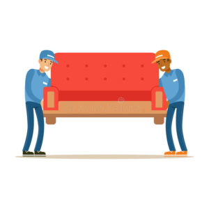 delivery-service-worker-helping-moving-carrying-sofa-smiling-courier-delivering-packages-illustration-vector-cartoon-male-86305234